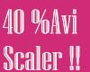 !C! 40% AVATAR SCALER