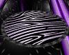 Lilac Zebra Rug