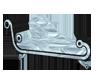 [M] $ky Blu Lounge Chair