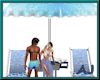 (A) Beach Chairs w/Coffe