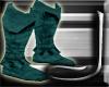 (J) Blue Hood Boots