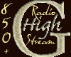 850 + Radio High Stream