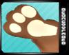 Choco Bunny paws