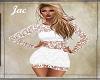 *J * DRESS LACE WHITE