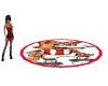 cool psv mascot rug