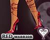 [wwg] RED warrior pumps
