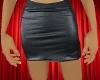 Mini Skirt Faux Leather