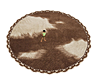 Country Round Rug