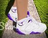 Purple Jordans
