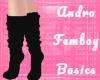 Femboy Socks - Black