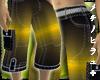 Thugs° ¾ Shorts Yellow