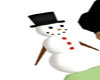 Frosty-Snowman  Animated