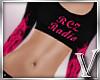 *V* RCZ Top Hot Pink