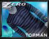 |Z| Topman Navy Stripe
