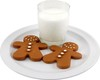 Gingerbread Cookies/Milk