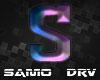 S Letter Colored Drv