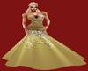 JBD Gold Glitter Gown