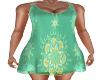 Boho Spring Dress-Green