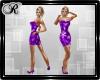 Purple Glistenz Dress