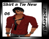New Shirt With Tie