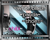 blk and wht panda shoes