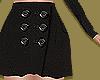 Black Tailored Skirt