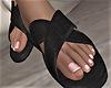Slippers x Black