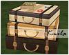 |K Vintage Luggage Table
