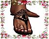 *Sonia Black Sandals