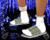 Green Plaid Slippers