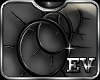 EV Spiked HooPs BlacK