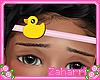 ➸ Ducky Headband
