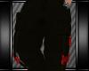 [L] BLACK CARGO PANTS