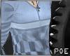 !P Custom Blue top
