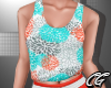 CG | Summer Coral Top
