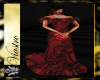 Lady Josephine Red Gown