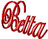 Betta 3D Sign 2