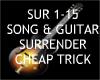 Surrender + Guitar  ~
