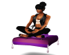 Purple Meditation Seat