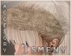 [Is] Fur Headband Beige