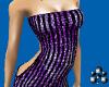Purple sequine dress