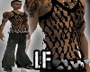 [LF] Blk String Vest