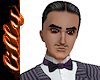 Gomez Addams Hair