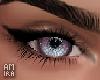 Eyes pink sky