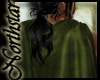 ~NS~ Green leather cloak