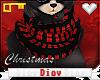 *D* Joy Bear Scarf V2