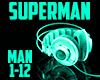 Superman-boy brown