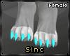 S; Jewl Feet F