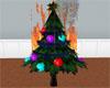 Burning Holiday Tree