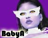 ! BA White Mask Held